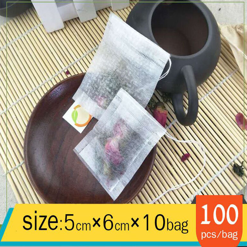 1000pcs Disposable Tea Bag Corn Fiber Homemade Bubble Tea Pouch DIY Flower Fruit Tea Packaging Halogen Filter Pack