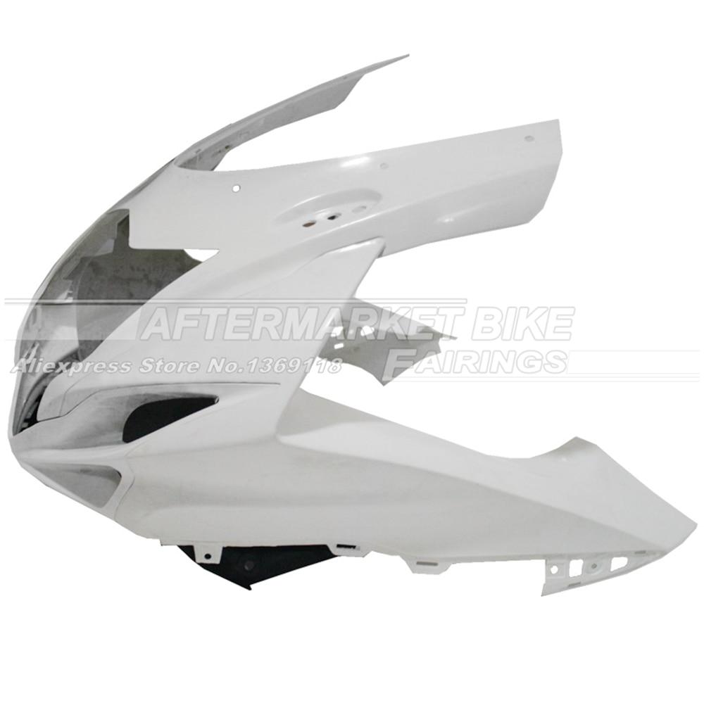 100% Virgin ABS Plastic Front Fairing Head For SUZUKI GSXR 600 / 750  2011 2012 2013 Upper Fairing Nose Cowling NEW 100% virgin abs plastic front fairing head for yamaha yzf r6 2008 2009 2010 2011 2012 2013 2014 upper fairing nose cowling new