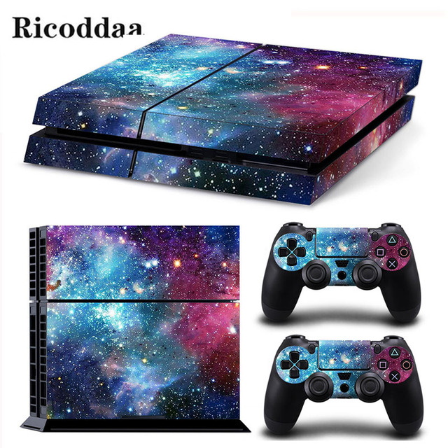 Game Stickers For PS4 Stickers Console Skin PS4 Controller Skins Cover For PlayStation4 Game Accessories