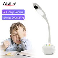 Wistino 720P WiFi Table Lamp Camera Smart Home Led Light Desk Camera Wireless CCTV Security IP Camer Video Baby Monitor Remote
