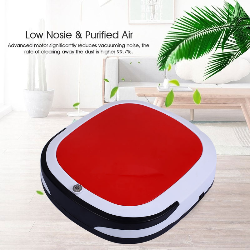 Rechargeable Auto Cleaning Sweeping Robot <font><b>Floor</b></font> Dirt Dust Hair Automatic Cleaner For Home Electric Vacuum Cleaners
