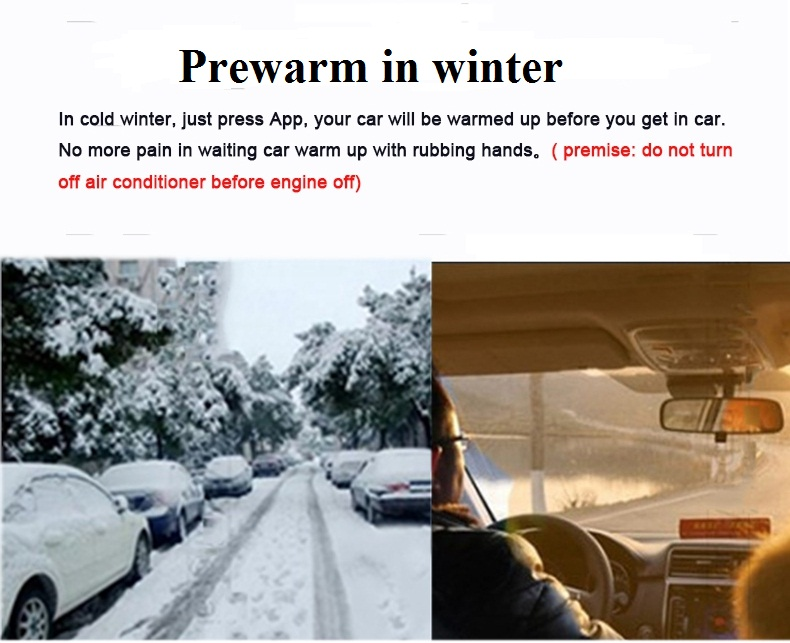 Remote Start Car Engine Start/Stop System To Warm Up Car In Winter ...