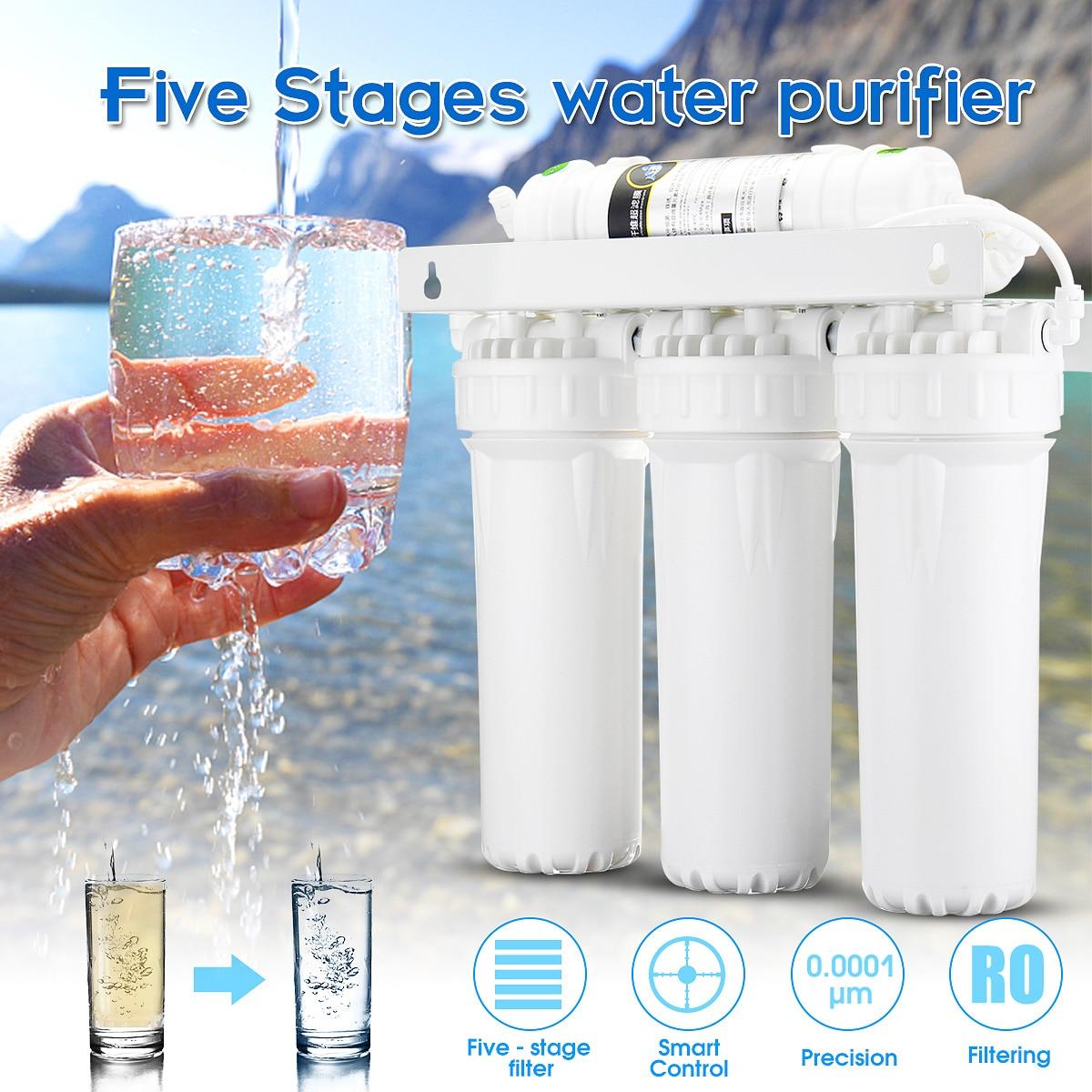 5 ступенчатая ультра-фильтрационная система UF домашний очиститель питьевой воды фильтры кран бытовой ультра фильтрационный фильтр для вод...