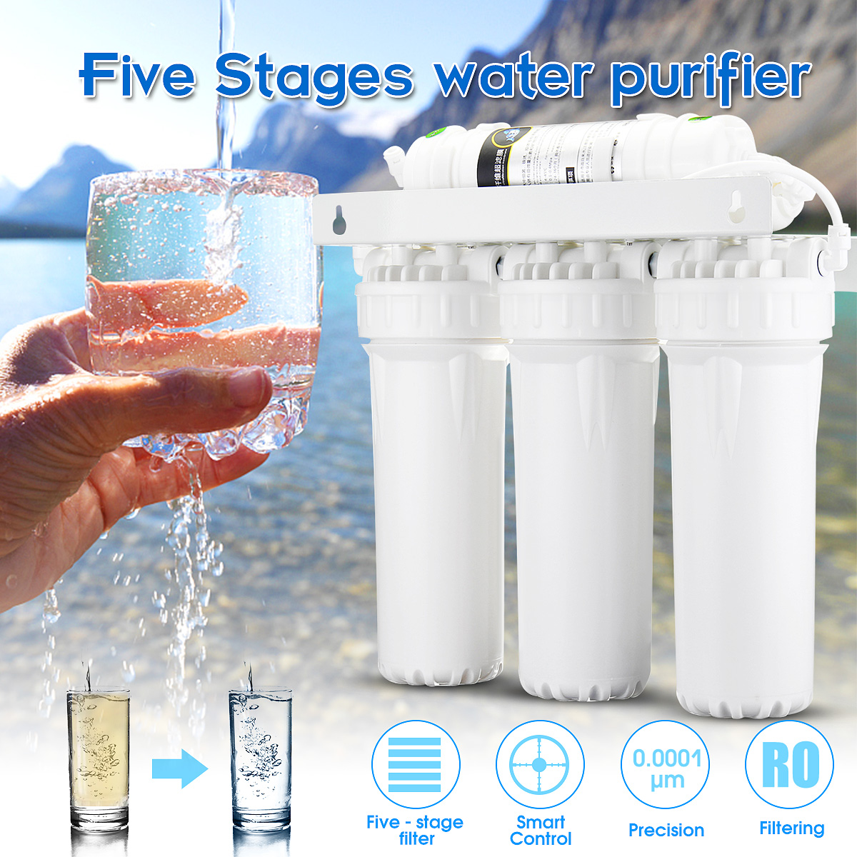 5 Stage Ultra Filtration System UF Home Purifier Drinking Water Filters Faucet Household Ultra Filtration Water Filter Kitchen 5 stage drinking ultra filtration system uf home purifier water filters faucet household ultra filtration water filter kitchen