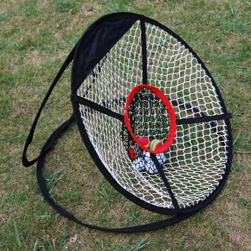 Image 3 - OOTDTY Pop Up Golf Chipping Net Tainer Aid Foldable Target Net For Accuracy Swing Practice-in Golf Training Aids from Sports & Entertainment