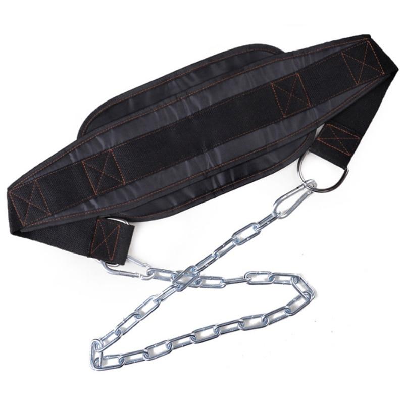 Тяжелая атлетика Dip пояс с цепью прочность подтягивать спортивное оборудование гантели для фитнеса Бодибилдинг Кроссфит Powerlifting аксессуар|Аксессуары|   | АлиЭкспресс