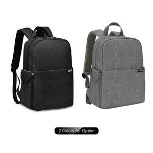 Image 2 - Caden l4 mochila para câmera dslr, bolsa de viagem, ombro, à prova de choque, para canon, sony, nikon, slr, lentes de câmera, tripods, laptop