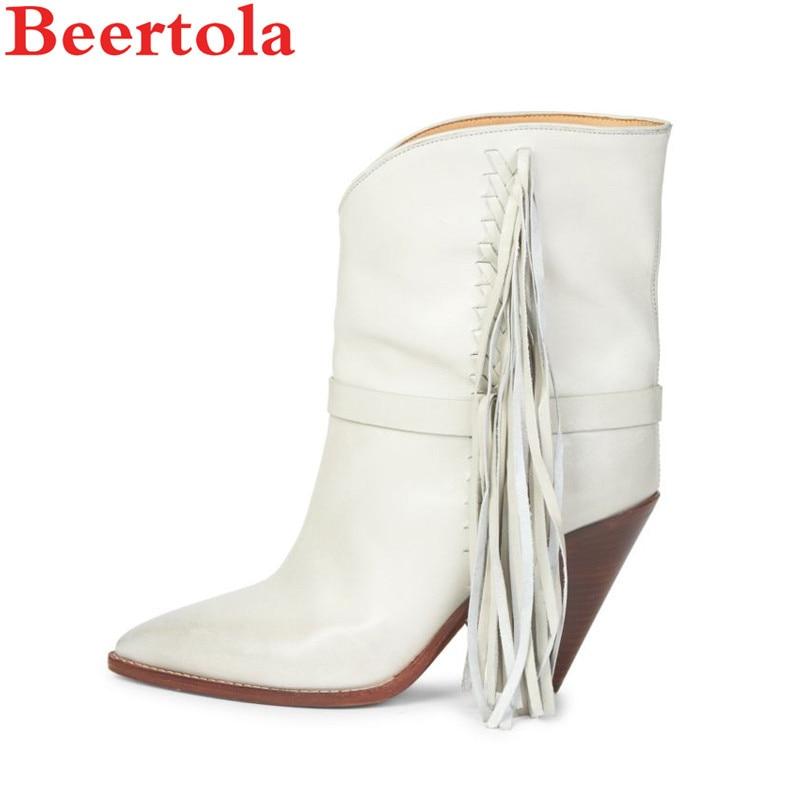 Picture Blanco Tacones As Spike Altos Botas Mujer Borla En Beertola Zapatos Marca Flecos Lujo Sandalias Señoras Caballero Gladiator Mujeres Punta 1AzHqXxw