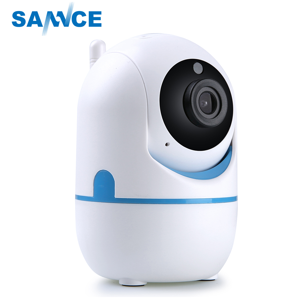SANNCE 720P HD Smart Wireless IP Camera 1.0MP TWO-WAY Audible IR night vision PT Camera CCTV security wifi baby monitor sannce 720p hd smart wireless ip camera 1 0mp two way audio ir night vision wifi ptz camera cctv home security baby monitor