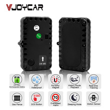 VJOYCAR Tkstar GPS Tracker Car Locator 90 Days Standby Vehicle Tracker Locator Magnet Waterproof SOS Vibration Alarm Free WebAPP