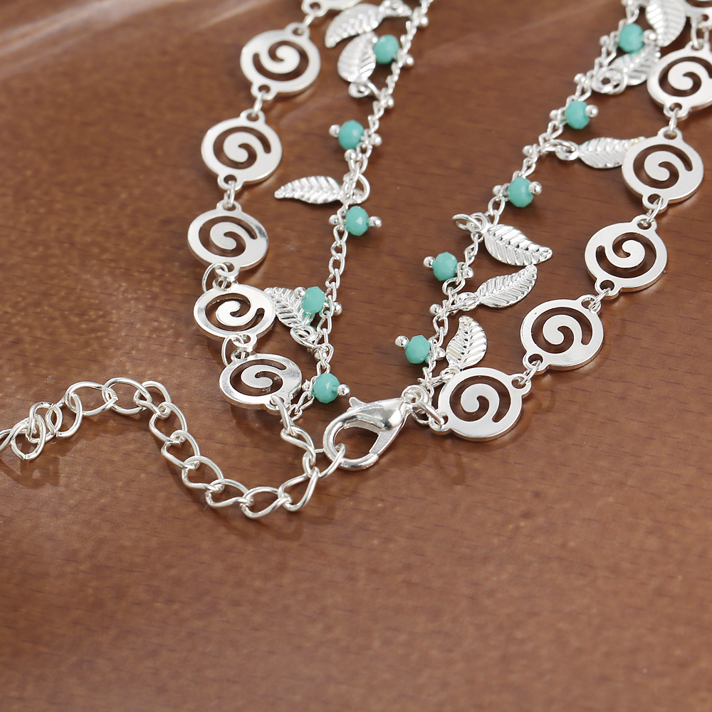IF-ME-Bohemian-Multiple-Layers-Anklets-for-Women-Vintage-Silver-Color-Leaf-Beads-Pattern-Pendant-Foot (1)
