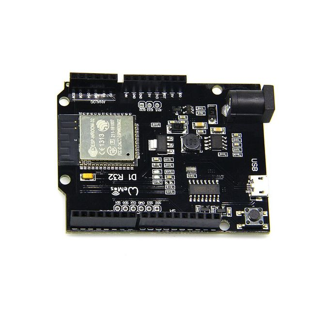 TTgo ESP32 WiFi & Bluetooth 4MB Flash UNO D1 R32 Rev1