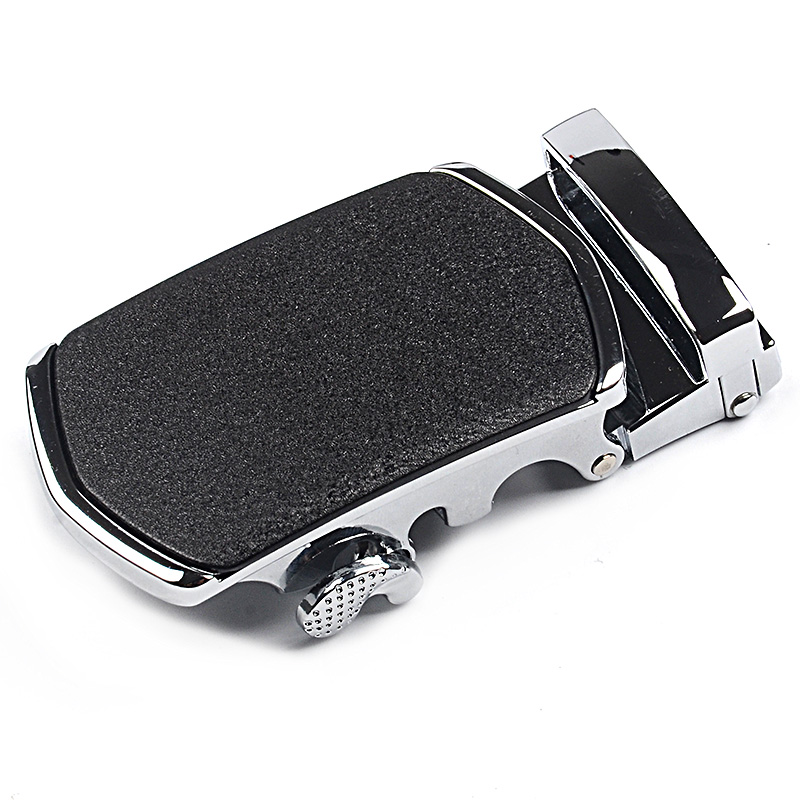 High Quality Belt Buckle Head Men's Metal Business 3.5cm Automatic Buckles Leather Waistband Buckle No Belt