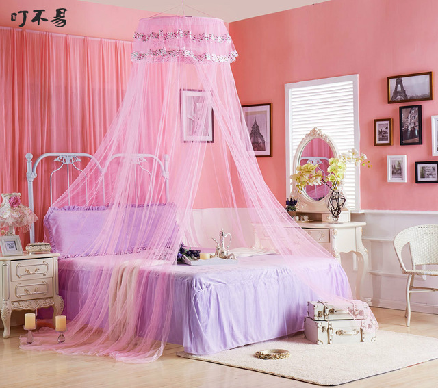 popular pink canopy curtains-buy cheap pink canopy curtains lots