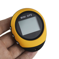Mini rastreador gps rastreamento dispositivo de viagem portátil chaveiro localizador pathfinding motocicleta veículo esporte ao ar livre handheld chaveiro