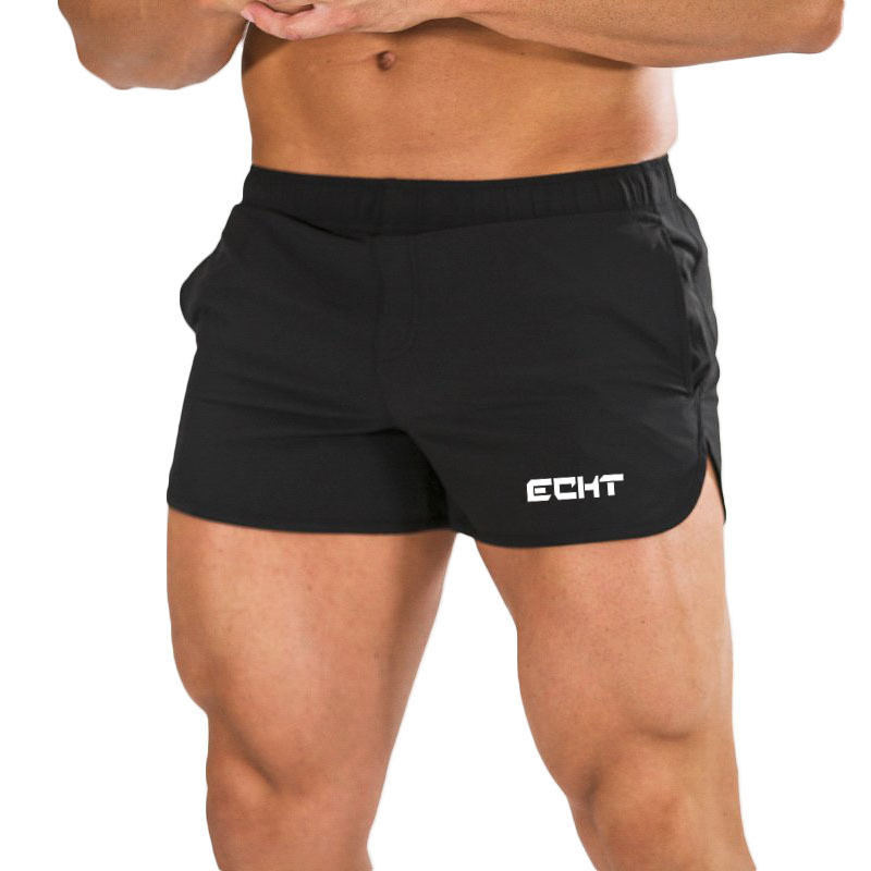 New Mens Gyms Fitness Workout Shorts Men Jogging Sports Loose Quick Dry Bodybuilding Sports Sportswear Male Running Short Pants