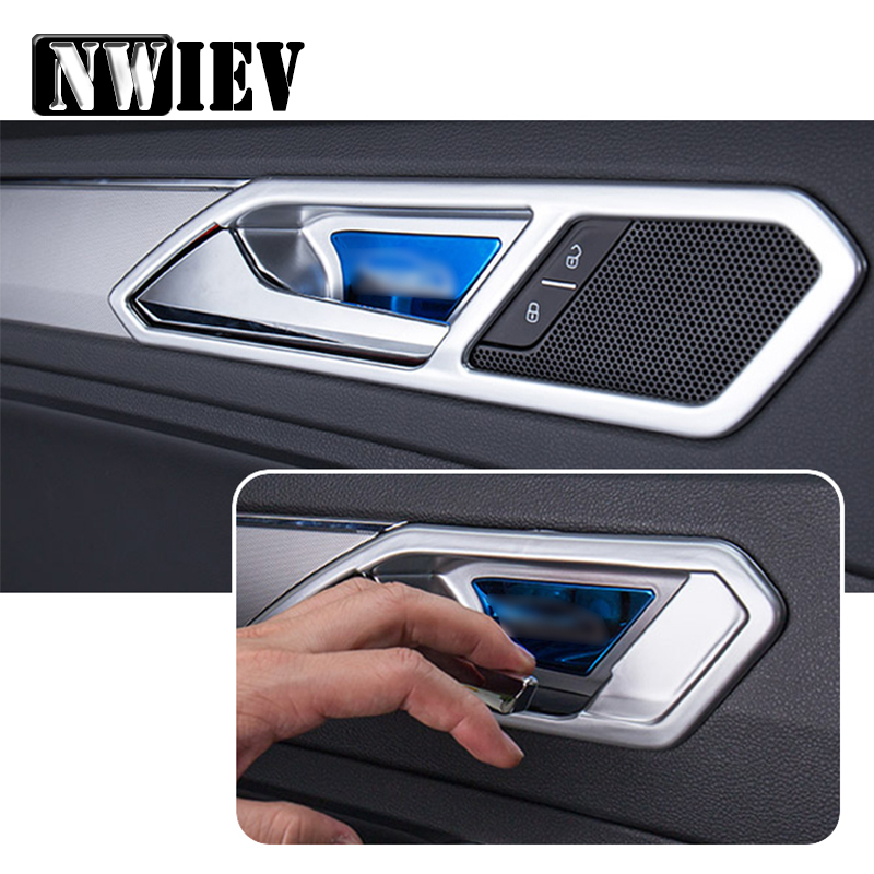 NWIEV Auto Car Stickers For VW Tiguan 2017 2016 2018 For Volkswagen ...