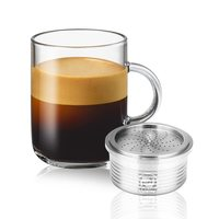 Stainless Steel Fillable Coffee Capsules Reusable Coffee Capsule Cup Filter for Lavazza Coffee Machine