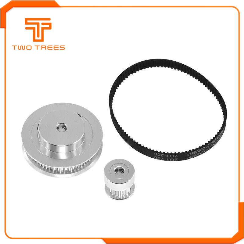 GT2 Timing Belt Pulley with 20/60 Teeth as 3D printer accessories 3