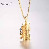 Starlord KUNDU Pendant Necklace Gold Color Traditional Drum Charm Indian Papua New Guinea Jewelry P2901K
