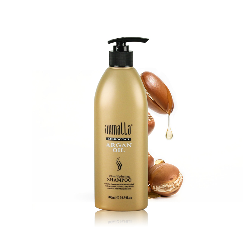 Superior Grade Hot Sale Armalla 500ml Moroccan Clear Hydrating Dry Shampoo hair care Moisturizing Shining Free shipping
