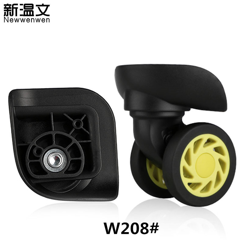 Replacement Luggage Wheels Rubber Suitcase Parts,Repair Trolley Travel Luggage,Wheels for suitcases,Suitcase Wheels Repair W208# replacement luggage wheels oxford suitcase wheels repair replacement wheels for luggage pu leather suitcases wheels w198