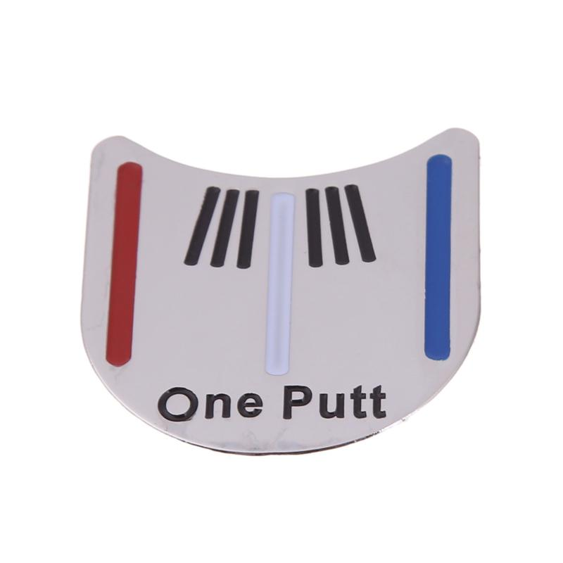 Golf Marks Magnetic Sign Hat Clip Golf Ball Marker  Mini Alloy Golf Cap Clip On For Golk Sports Training Aids Ultralight