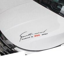 Lsrtw2017 Asb Car Engine Hood Decorative Sticker for Trumpchi Gs4 2015 2016 2017 2018 2019 2020 lsrtw2017 abs car wheel fender for trumpchi gs4 2015 2016 2017 2018 2019 2020