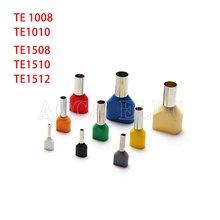 100 шт двойная Изолированная труба холодная стандартная многоцветная