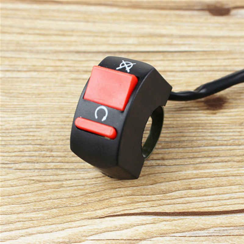 "New Handlebar Motorcycle Switch Button Switch For U5 U7 U2 HeadLight LED Angel Eyes Light fog light switch 7/8"" Spotlight Switch"