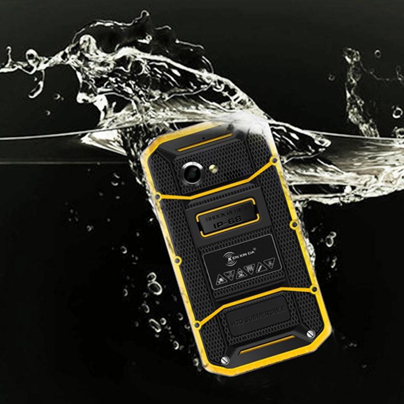 Original Kenxinda W8 4G LTE Smartphone 5.5 Inch 1280*720 Android 5.1 MTK6753 Octa-Core 2GB RAM Ruggedphone