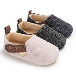 Обувь для новорожденных мальчиков, обувь для малышей, нескользящая Мягкая подошва, обувь для девочек, обувь для малышей, Лидер продаж, 0-18