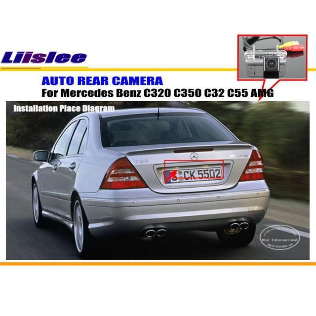 Liislee Car Camera For Mercedes Benz C320 C350 C32 C55 AMG / Rear ...