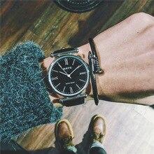 2019Brand Leather Watches Men Waterproof Fashion Casual Dress Quartz Watch Business Wristwatch Relogio Masculino цена
