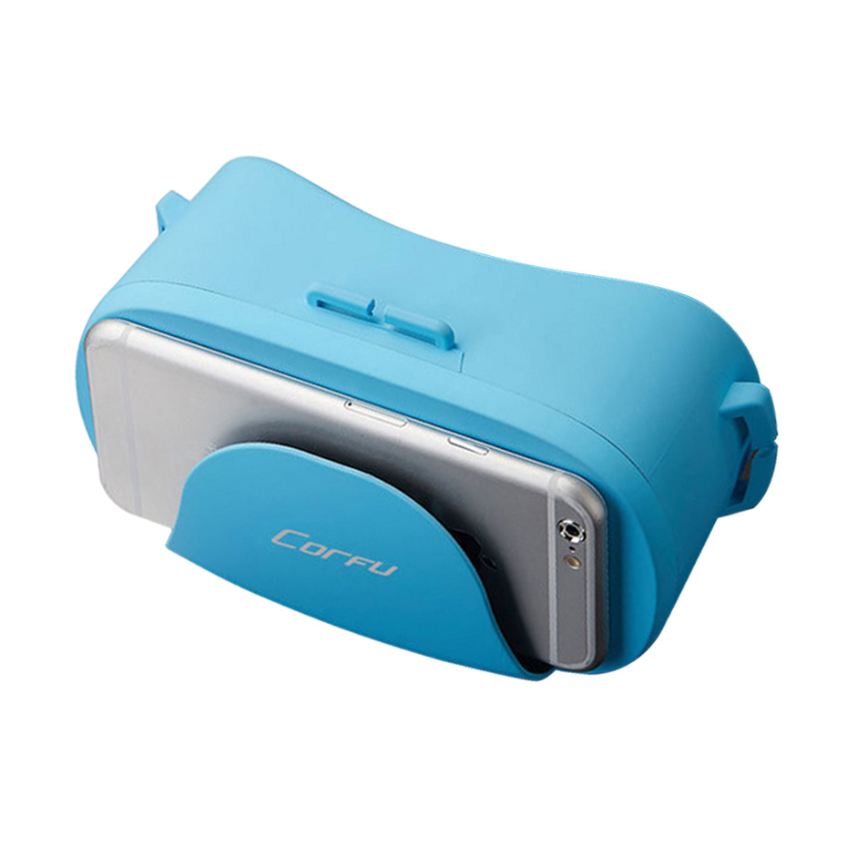 VR Box 3D Virtual Reality Brille Mini VR Gläser Google karton für Android ios Smartphone 4,0-6,0 zoll FOV 120 3D gläser