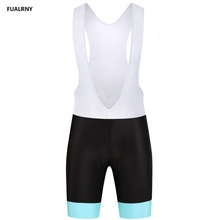 FUALRNY NEW Cycling bib shorts Quick-Dry Summer Women MTB Clothing Breathable Bicycle Clothes Ropa Ciclismo Ocean style