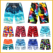 цена на New Summer Wholesale Men Beach Board Shorts Swimwear Swimming Trunks Male Surfing Swim Shorts High Quality Breathable Shorts