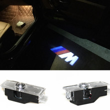 2pcsX Ghost Shadow Light Welcome Laser Projector Lights LED Car For BMW E60 M5 E90 F10 X5 X3 X6 X1 GT E85 E70 E71 E81 E82 M3 M6