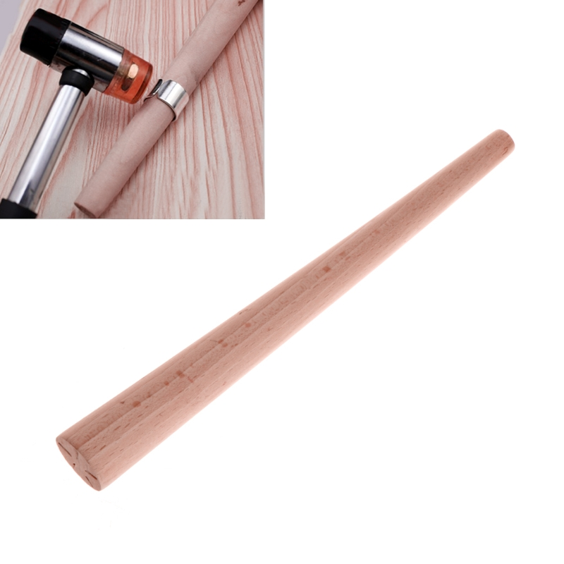 Tapered Mandrel Wood Ring Stick Making Different Sizes Tools Jewelry Equipments     -W128
