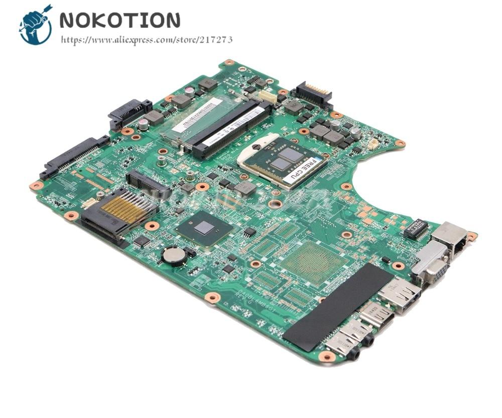 NOKOTION Laptop Motherboard For Toshiba Satellite L655 L650 MAIN BOARD A000075380 31BL6MB0000 DA0BL6MB6G1 HM55 DDR3