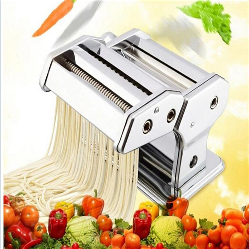 Household Stainless Steel Pressing Pasta Machine Noodle Making Machine Pollen Press Pasta...