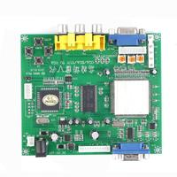 1 Set New RGB CGA EGA YUV To VGA HD Video Converter Board Moudle HD9800 GBS8200
