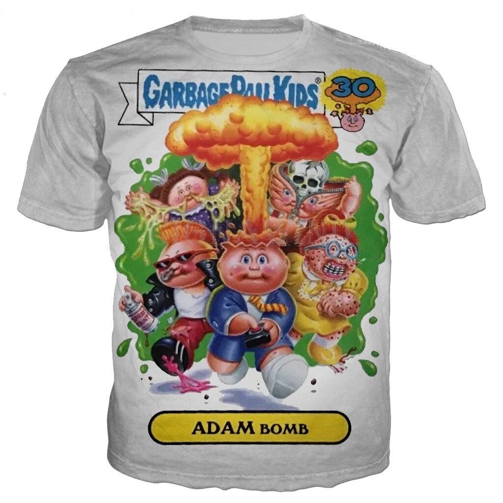 GPK 1980s NEW Tee T Shirts S M L XL 2XL DEAD TED Garbage Pail Kids Shirt