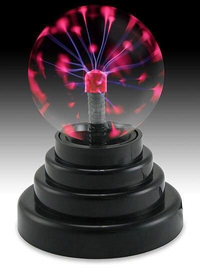 """3 """"USB Plasma Ball воспитательная игрушка Электростатического Сфера Свет Magic Touch Sensitive Lights"""