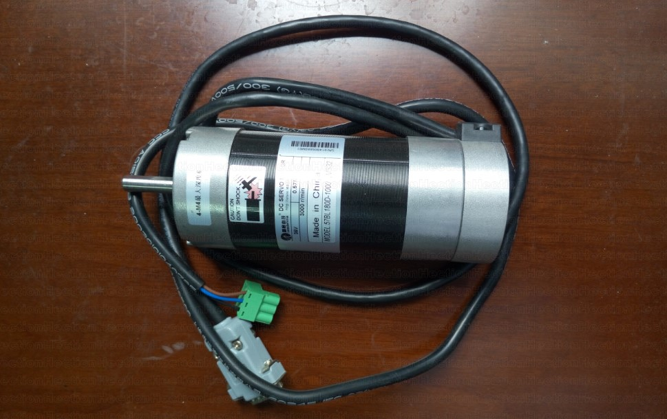 New Leadshine DC servo motor 57BL180D-1000 work 36VDC Run 3000RPM have 0.43NM Torque Brushless DC servo motor encoder 1000 lines smt motor sanyo denki l404 011e17 dc servo motor genuine new