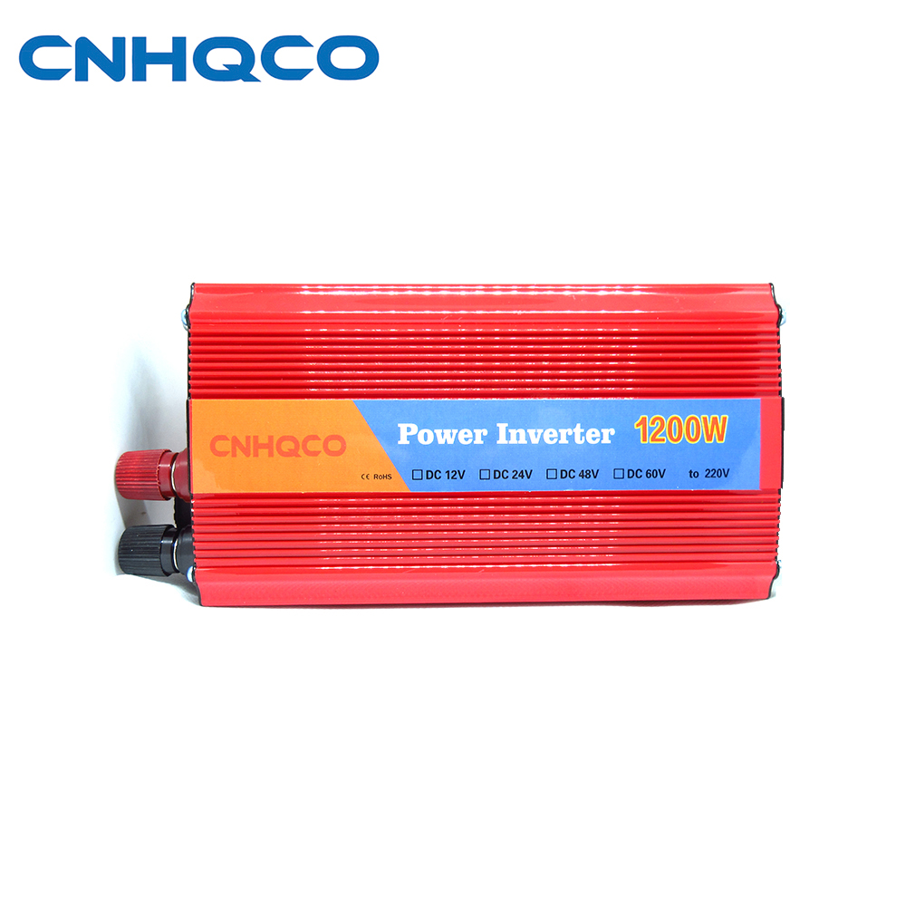 USB 1200W Watt DC 12V to AC 220V Portable Car Power Inverter Charger Converter Adapter Modified Sine Wave Good quality AE002