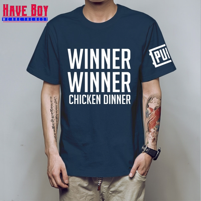 PUBG Winner Winner Chicken Dinner T-shirts