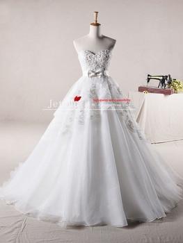6b12f3b34 2013 a-line jj122 asequible organza apliques de novia vestidos de novia  tienda online