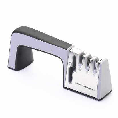 Knife Sharpener 4 in 1 Knife and Scissors Chef Knife Sharpener Kitchen Accessories Sharpening System