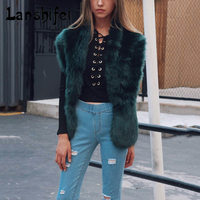 Faux Fur Collar Cape Shawl Winter Women Solid Long Hair Imitated Fur Scarves Lady S Autumn